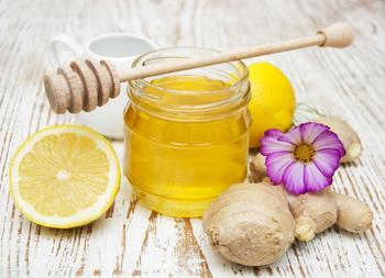 Имбирь с лимоном и медом для похудения
