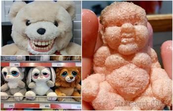 17 «милых» игрушек, от которых просто волосы дыбом