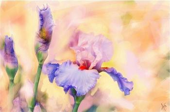 Цветочный бал художника Alberto Guillen