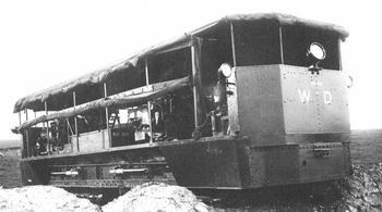 Проект боевой машины Pedrail Landship (Великобритания)