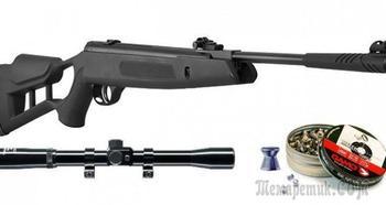 Недорогая, мощная и точная пневматическая винтовка Hatsan Striker Edge