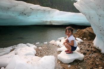 Ледяной пляж Булуус, в существование которого сложно поверить