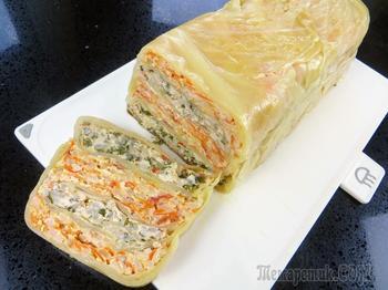 Просто выкладываем все слоями! Потрясающий обед из капусты и фарша / Рецепты Другой Кухни