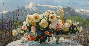 Цветочные поэмы Ларисы Псарёвой