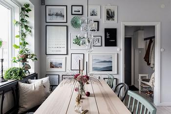 Двухкомнатная квартира площадью 55 кв. м в пастельных тонах
