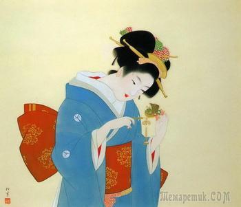 Уэмура Сёэн  (1875-1948)- японская художница