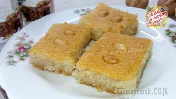 «Басбуса» - рассыпчатый и сочный десерт