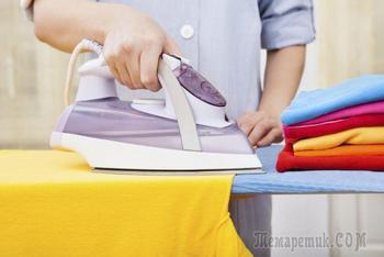 Как правильно гладить одежду из разных тканей