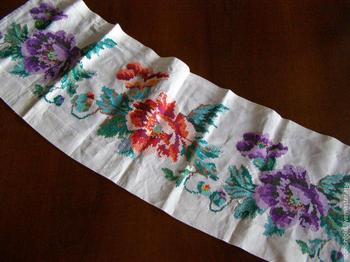 Как сохранить мамину вышивку