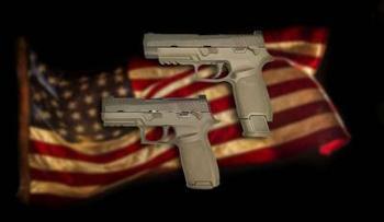 Новый пистолет для армии США - SIG Sauer P320