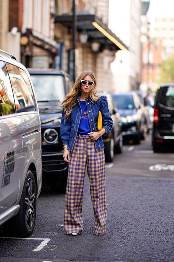 Street style: самые эффектные образы Недели моды в Лондоне 2018