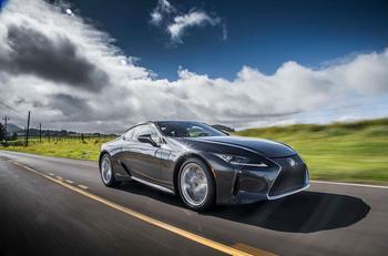 Шикарному купе Lexus LC добавили остроты