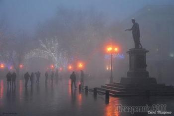 Осень в Одессе (Стих)