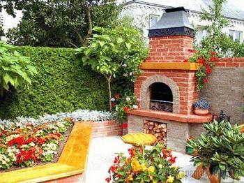 11 идей оригинального применения кирпича дома и в саду