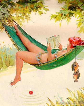 Жизнерадостная Хильда – pin-up в полном расцвете! Тема для милых дам :))