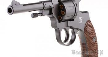 Пневматический револьвер Gletcher NGT — тот самый русский наган