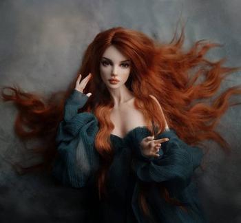 Шарнирные куклы от художницы Elsyn