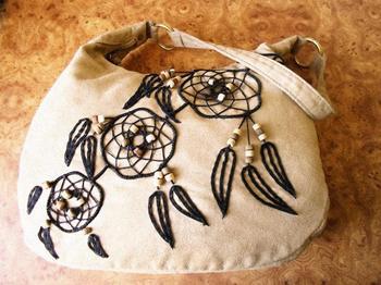 Декорируем сумку в этническом стиле