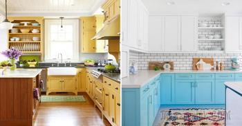Стильные шкафы, которые сделают кухню оригинальной и практичной