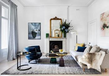 Элегантный современный интерьер 150-летнего дома в Австралии