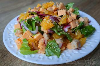 Съедается первым! Сочный салат без майонеза к любому столу!