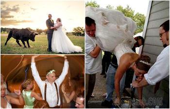 18 эпичных свадебных фотографий, которые не хочется ставить в альбом