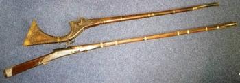 Карамультук и джезайл: грозное оружие племён