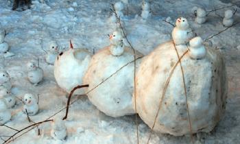 Не все снеговики одинаково дружелюбны
