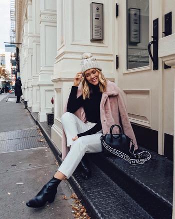 Зимний городской стиль 2019 для женщин 40-50 лет: самые стильные луки