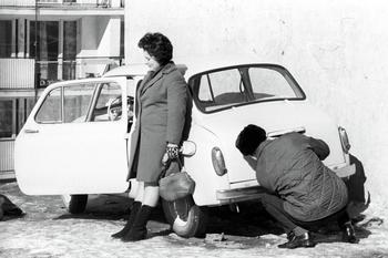 Подарила мужу машину, а он обиделся