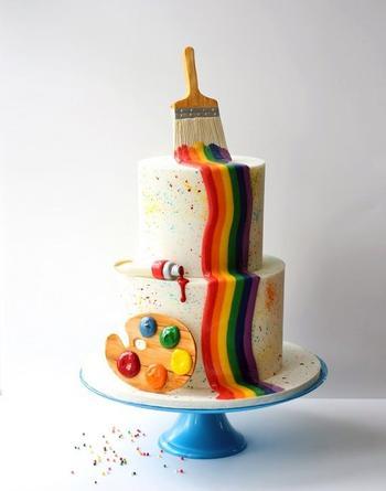 Эти торты слишком красивы, чтобы их есть