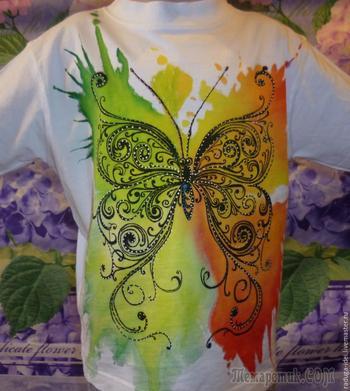 Пятна на детской футболке не горе, а повод нарисовать модный рисунок!