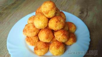 """Быстрое печенье  """"Кокосанка"""" без муки из трех ингредиентов"""