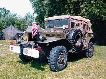 «Три четверти» из США: ленд-лизовские Dodge WC в Красной армии