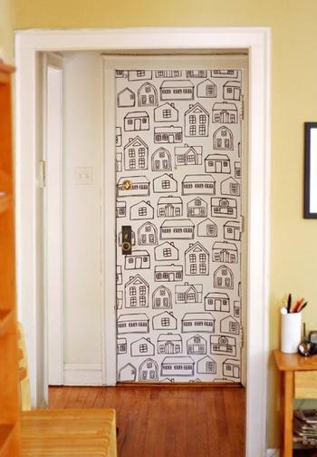 Декорируем двери