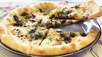Настоящая пицца, как в Италии - все секреты приготовления | Пицца с грибами