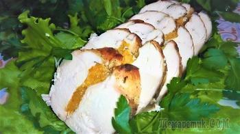 Вкусная куриная грудка с мандаринами на праздничный стол!