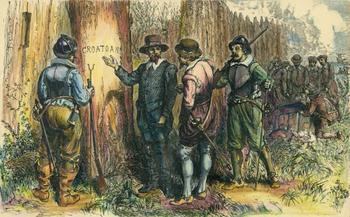 """Загадочное исчезновение 118 поселенцев и таинственное слово """"Кро"""""""
