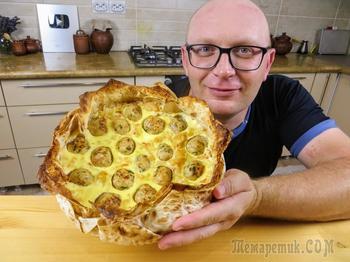 Мой коронный рецепт / Чудо пирог из лаваша с капустой и фаршем