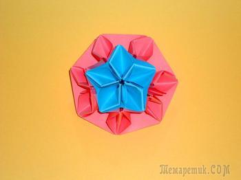 Оригами Цветы Из Бумаги Детский подарок на 8 марта