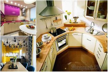 17 идей обустройства интерьера кухни для малогабаритной квартиры