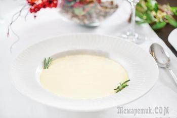 Суп-пюре из кабачков - Вкуснейший рецепт супа