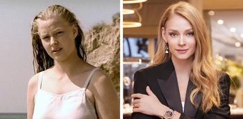 Как выглядели известные российские актрисы в своём первом фильме и сейчас