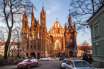 Монастыри и храмы... Костёлы святой Анны и святго Бернандина