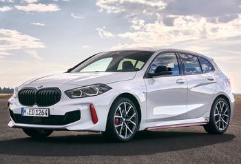 BMW 1 series 2021: третья генерация популярного хэтчбека класса премиум