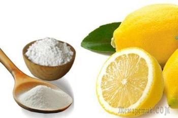 Сода и лимон - удивительное средство для здоровья