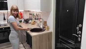 Перепланировка однушки-«хрущевки», или Зачем хозяйка превратила коридор в полноценную кухню