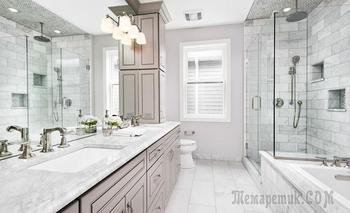18 роскошных ванных комнат в классическом стиле