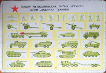 Старые военные игрушки
