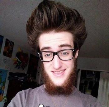 Чудесатые причёски и стрижки